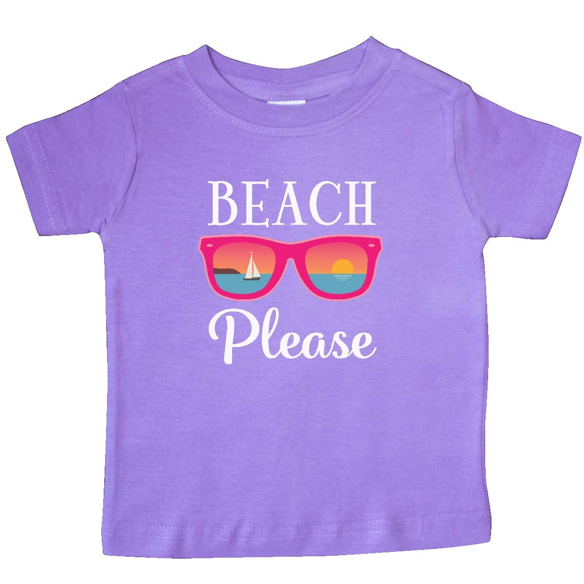 inktastic Beach Please Sunglasses Gift Baby T-Shirt