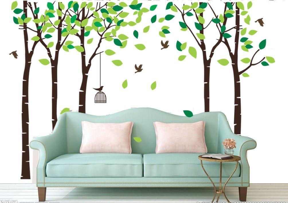 Kindermobel Wohnen Gross Baum Wandtattoo Aufkleber Wald Kinderzimmer Wand Baum Kw032r Mobel Wohnen Blog Vr Com Br