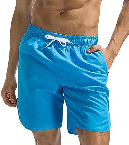 Electri hombre Shorts Traje de baño boxeador sexy playa hombres ...