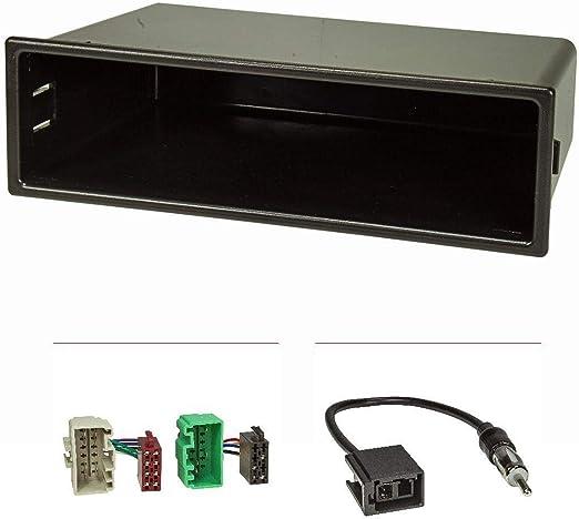 Tomzz Audio 2456 013 Radioblende Set Kompatibel Mit Volvo S40 V40 Facelift Bj 2000 2004 Mit