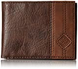 Columbia Men's Leather Extra Capacity Slimfold Wallet, Jax Brown, One Size