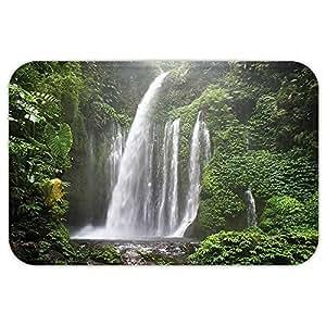 vroselv Custom puerta matnatural cascada decoración colección selva cascada en Indonesia Tropical treeadventure imagen