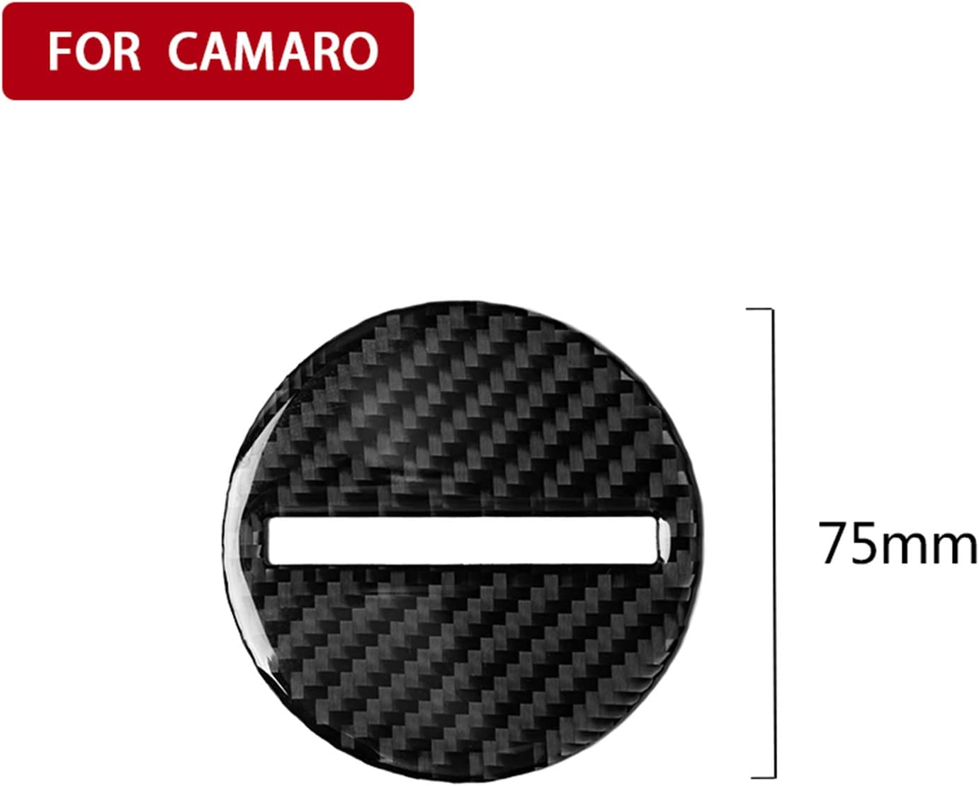 hors Carbon Fiber Interior Instrument Dashboard Steering Wheel Frame Panel Decal Cover Trim for Bumblebee Chevrolet Camaro SS RS LT ZL1 2017+
