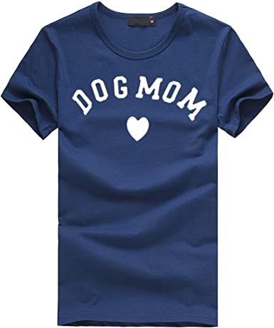 Luckycat Mujeres Manga Corta Camisetas Verano Algodón Carta Impresión T Shirt Blusas Camisas Tops Personalidad: Amazon.es: Ropa y accesorios