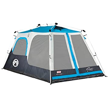 COLEMAN 8 Person Instant Tent 2 Rooms Waterproof Family C&ing - 14u0027 x  sc 1 st  Amazon.ca & NEW! COLEMAN 8 Person Instant Tent 2 Rooms Waterproof Family ...