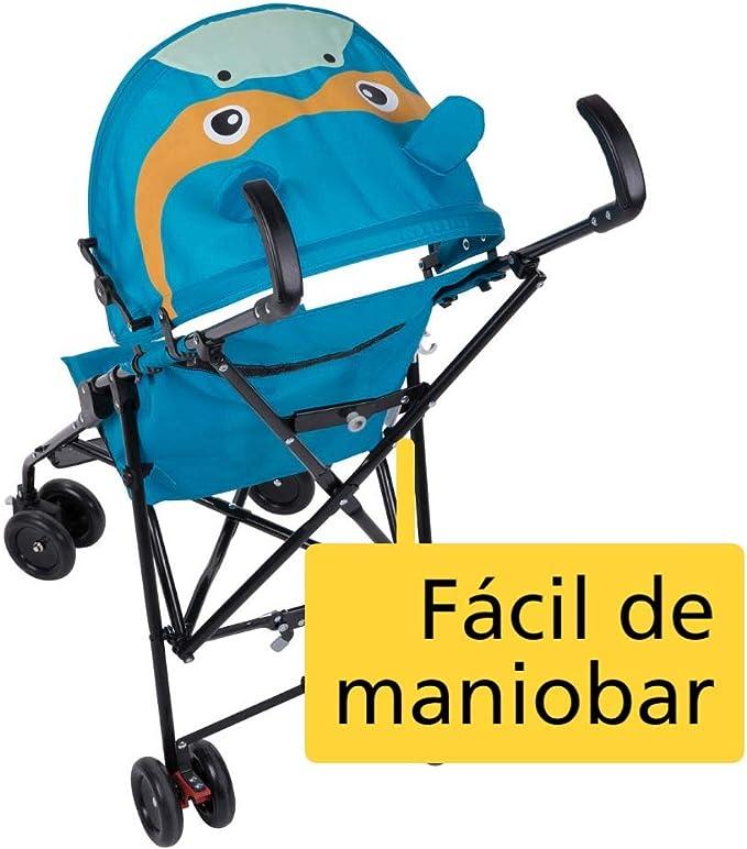 Safety First CRAZY PEPS Hippo color azul Silla de paseo