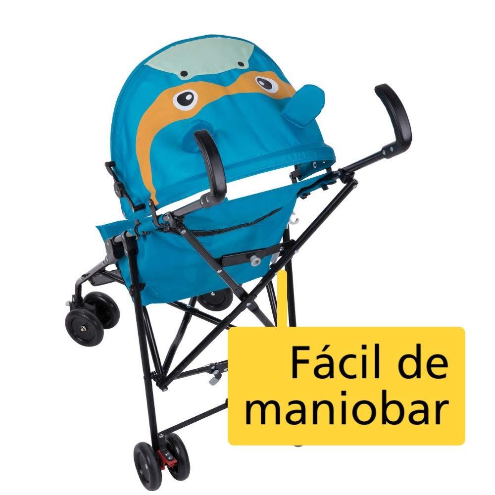 Safety First CRAZY PEPS Hippo - Silla de paseo, color azul