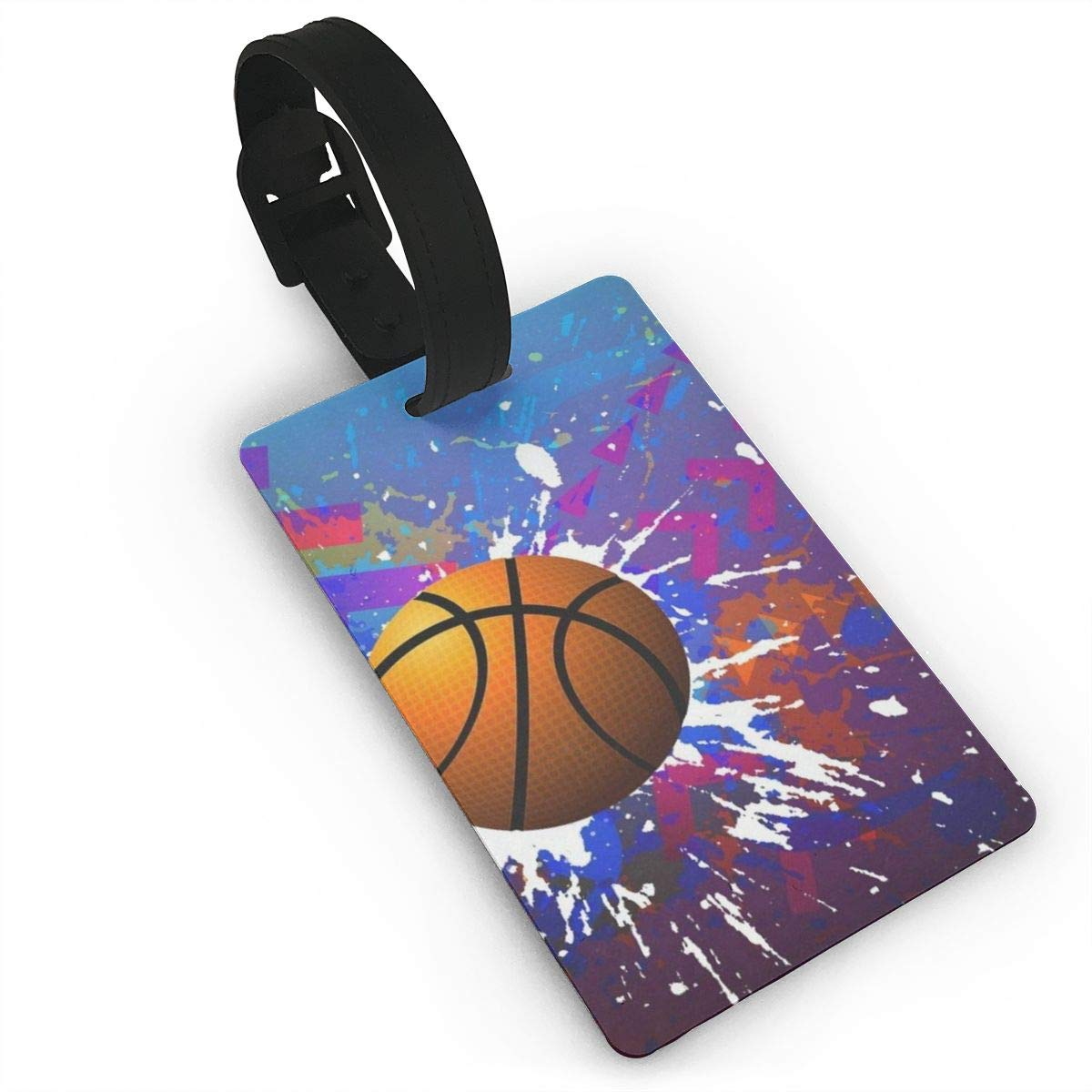 Luggage Tags Basketball Skin Bag Tag for Travel 2 PCS