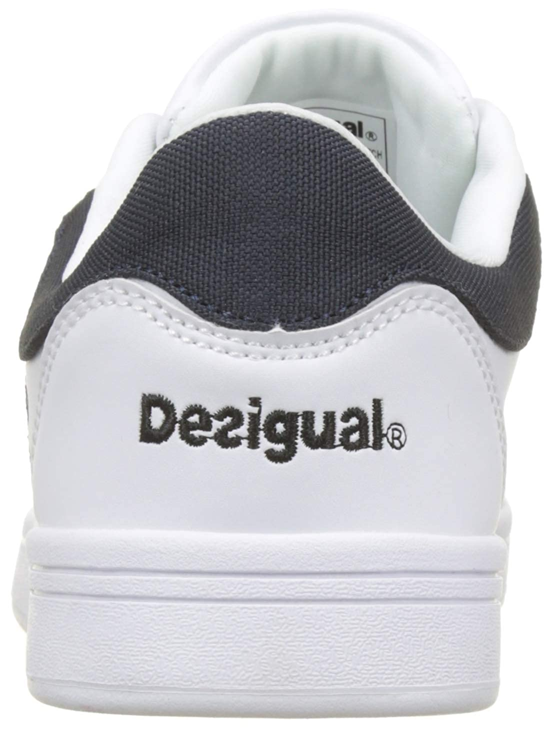 Amazon.com | Desigual Womens Shoes_Retro Court Geopatch Low-Top Sneakers | Fashion Sneakers