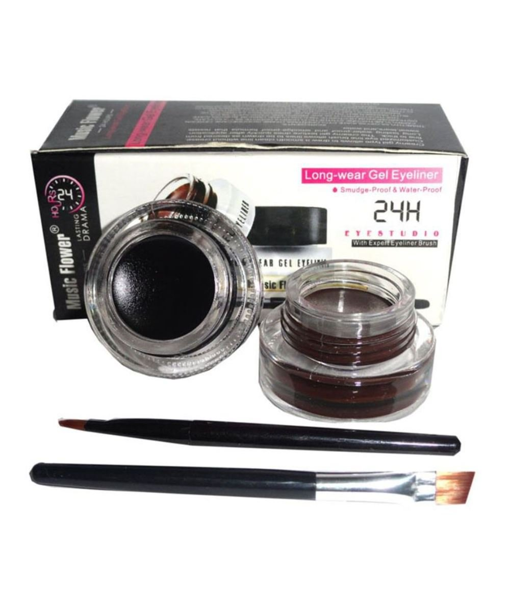 Music Flower Gel Eyeliner Cake Two in One product image