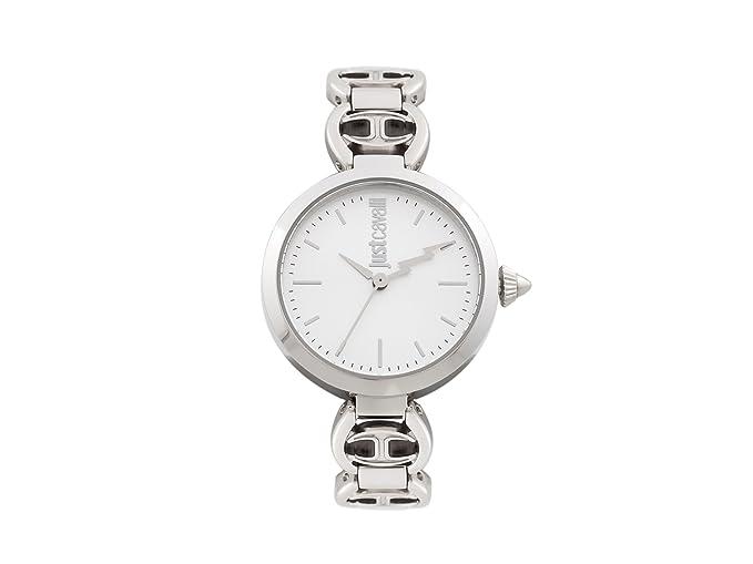 Just Cavalli Reloj Analogico para Mujer de Cuarzo con Correa en Acero Inoxidable JC1L009M0055: Amazon.es: Relojes