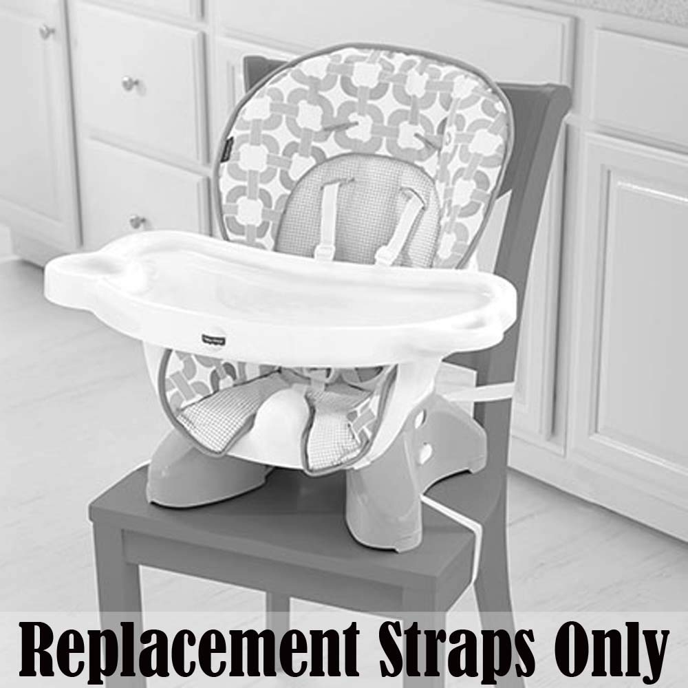 Replacement Parts for Space Saver High Chair Replacement Straps ~ 2 Waist Straps Fisher-Price Spacesaver High Chair CLR40 2 Shoulder Straps and 1 Crotch Strap