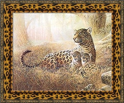 Compare Price: leopard print framed pictures - on