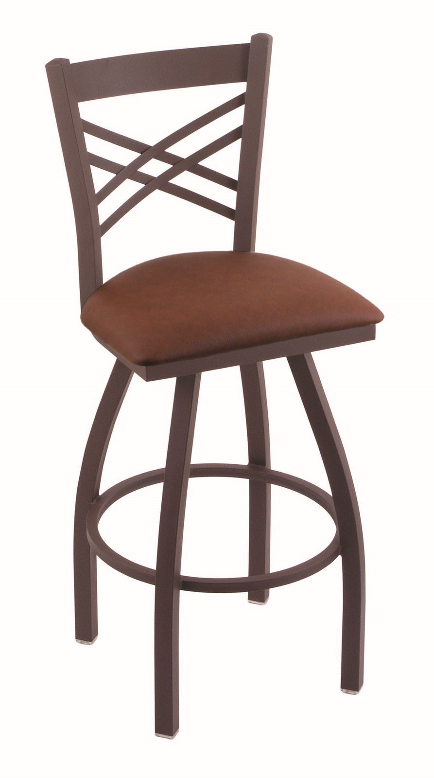 Holland Bar Stool Co. 820 Catalina 36'' Bar Stool with Bronze Finish and Swivel Seat, Rein Adobe by Holland Bar Stool Co.