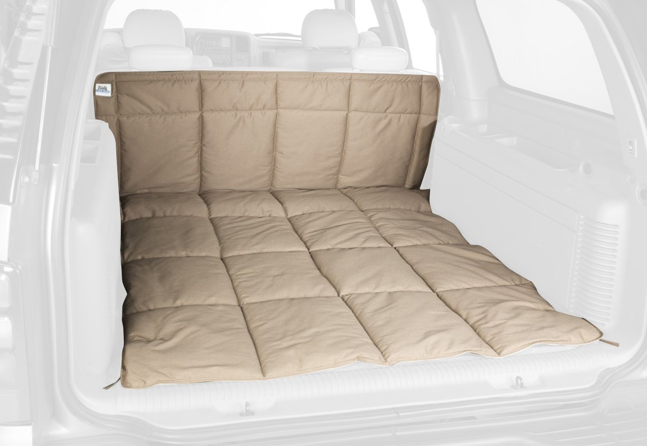 Canine Covers DCL6350CT Cargo Area Travel Liner Misty Gray Polycotton Large Cargo Area Travel Liner by Canine Covers