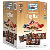 #4: Nature's Bakery Whole Wheat 12 Fig Bar, 12 Blueberry, 12 Raspberry, Vegan + Non-GMO, Variety Pack (36 Count)