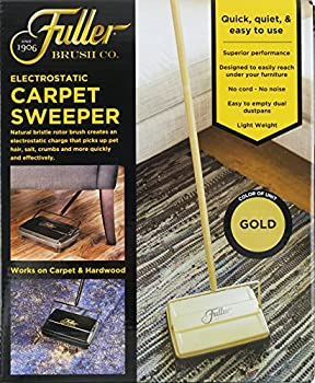 Fuller Brush Carpet Sweeper - Gold 3