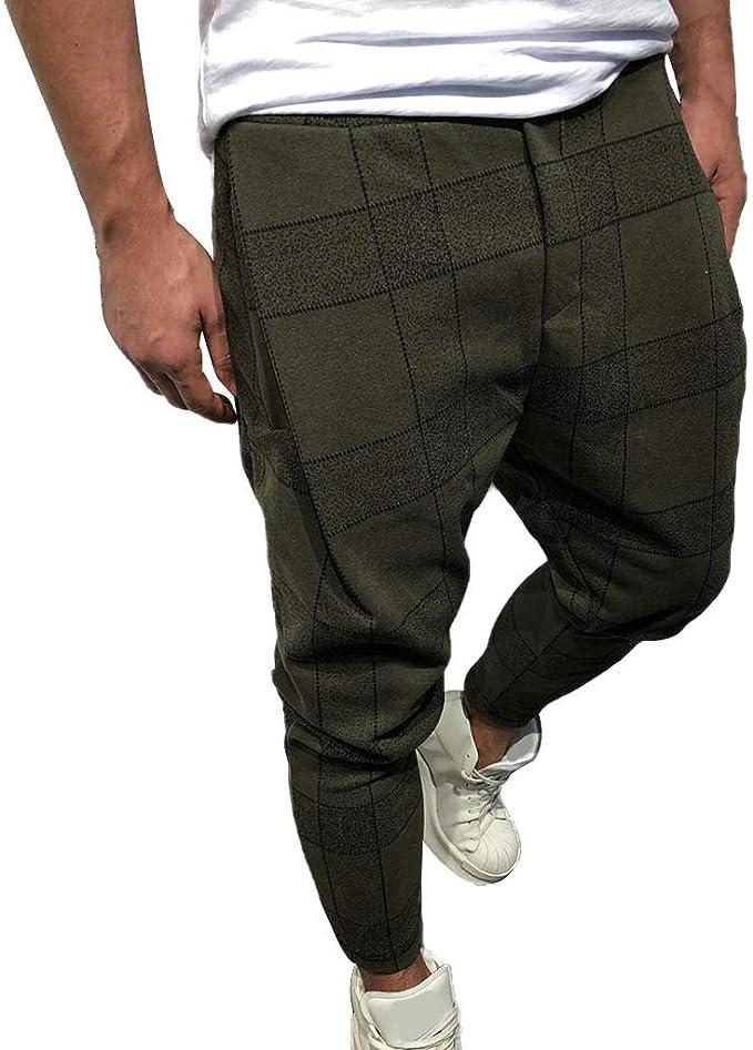 Men Jogger Pants Jogging Slim Fit Tracksuit Trousers Workout Sweatpants Slacks