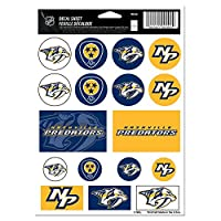 NHL Vinyl Sticker Sheet