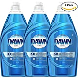 Dawn Dishwashing Liquid Original Scent 21.6 Oz (3 Pack)