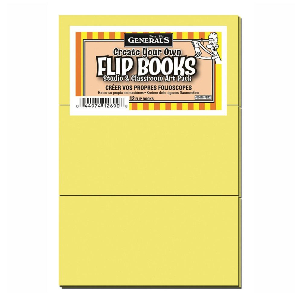 General Blank Flipbooks Class Pack of 12