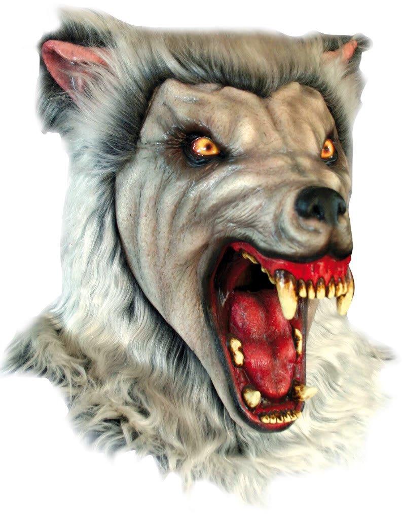 Generique - Maschera lupo mannaro delle nevi adulto