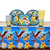 Pokemon Party Supplies Pack for 16 Guests: Straws - Best Reviews Guide