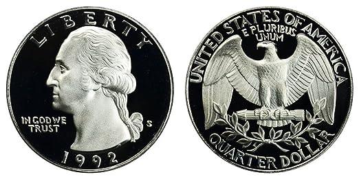 1997 Washington Quarter Proof 90/% Silver Gem Deep Cameo US Coin