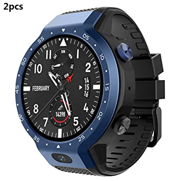 Amazon.com: ZUKN 4G Dual System Smartwatch IP67 Waterproof ...