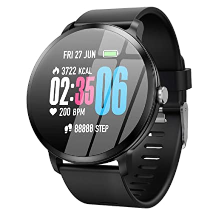 Amazon.com: Smart Watch for Men - Fitness GPS Tracker Plus ...