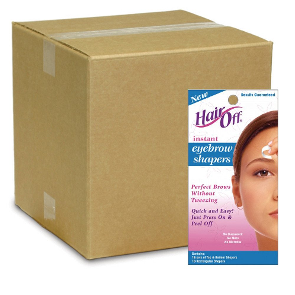 Hair Off Instant Eyebrow Shapers (Pack of 36)