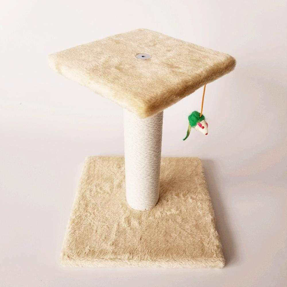bluee Weiwei Cat Climb frame cat tree cat litter cat grab column for sleeping game 28cm 28cm  34cm