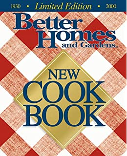Better Homes And Gardens New Cookbook (1930 2000 Limited Edition)