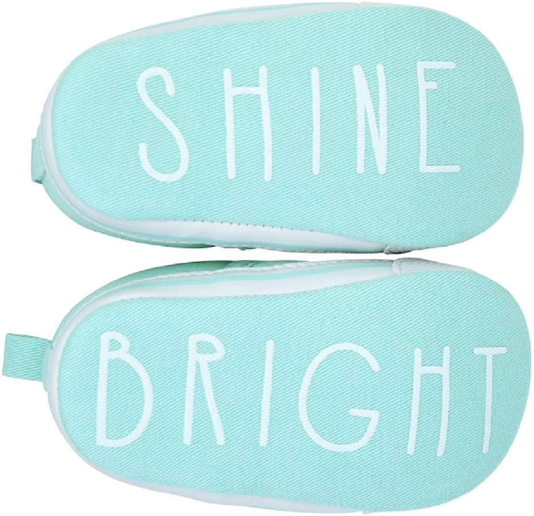 Goldbug Baby Boy Shine Bright Slip On Crib Shoes