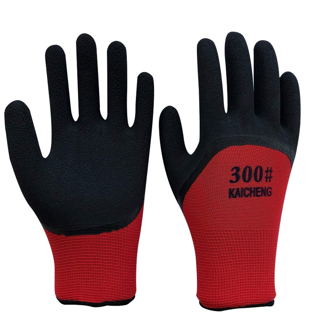 XW Glove Nitrile Coating Gardening And Work Gloves For General Purpose 12 Pairs