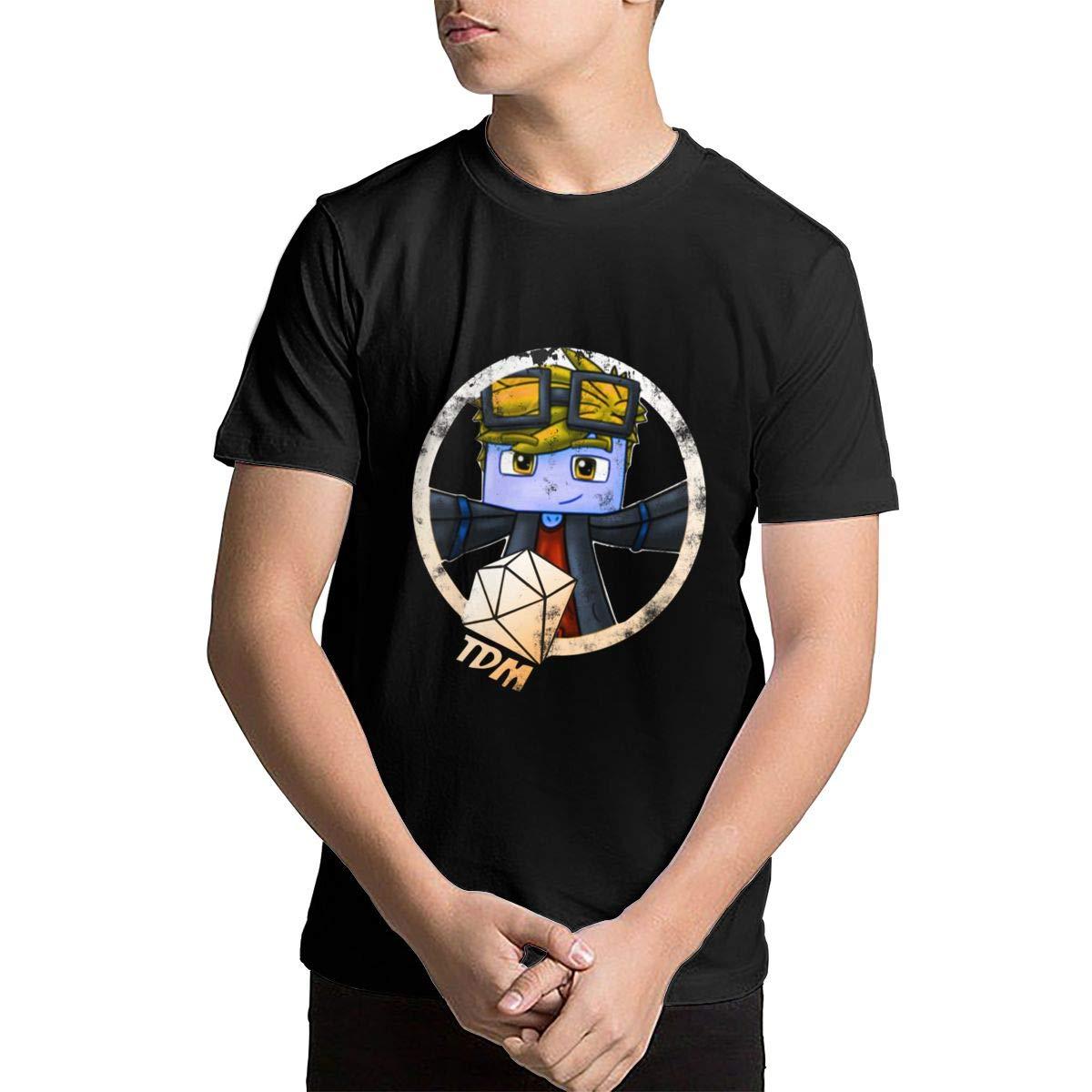 Dantdm Dan Tdm Logo Teenage Teens Custom Tshirt Fashion Shirt For And Girl