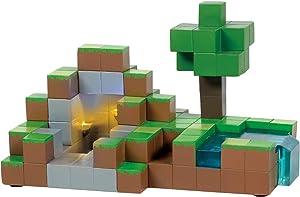 Department 56 Minecraft Village Diamond Lit Building, 4.75 Inch, Multicolor