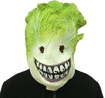 Sunnymi Cosplay Funny Grinch Spoof máscara de derretir cara látex ...