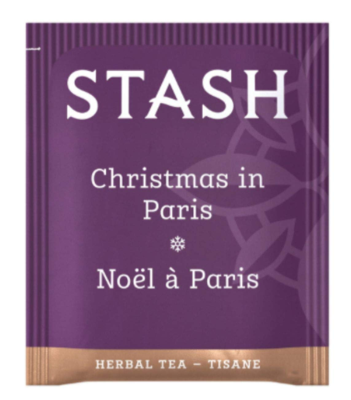 Stash Tea Teabags Christmas In Paris 100 Count Box of Tea Bags in Foil