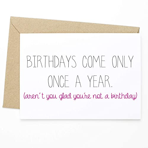Amazon Funny Birthday Greeting Card For Her