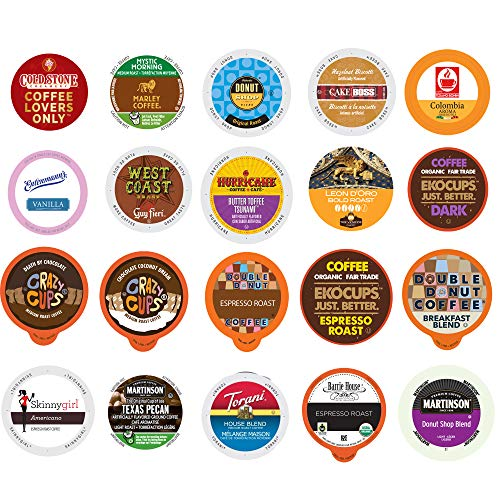 Coffee Variety Sampler Pack for Keurig K-Cup Brewers (Coffee, 20)