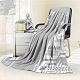 AmaPark Super Soft Lightweight Blanket Computer Motherboard Electronic Hardware Technical Display Oversized Travel Throw Cover Blanket
