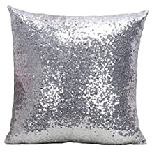 Multi-size Glitter Sequin Stuffed Bed Throw Pillow LivebyCare Filled Cushion Filling Bed Pillows Cover Pattern Zipper For Teen Boy Girl Kid Children Bedroom