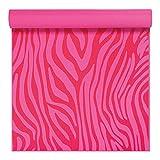 Gaiam Kids Pink Zebra 3mm Printed Yoga Mat