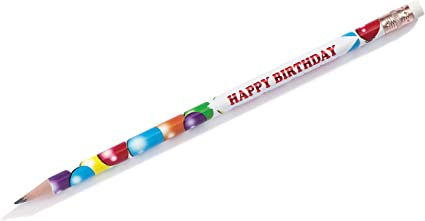Happy Birthday from Your Principal Pencils Student Gifts 25 Pack