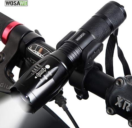 WOSAWE Luz Frontal para Bicicleta 800/1000 lúmenes Impermeable ...