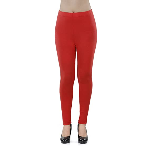 3d66a5ce2958f6 Vami Woolen Ankle Legging In Black Colour: Amazon.in: Clothing & Accessories