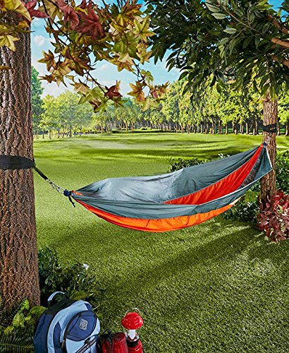 The Lakeside Collection Parachute Hammock - -