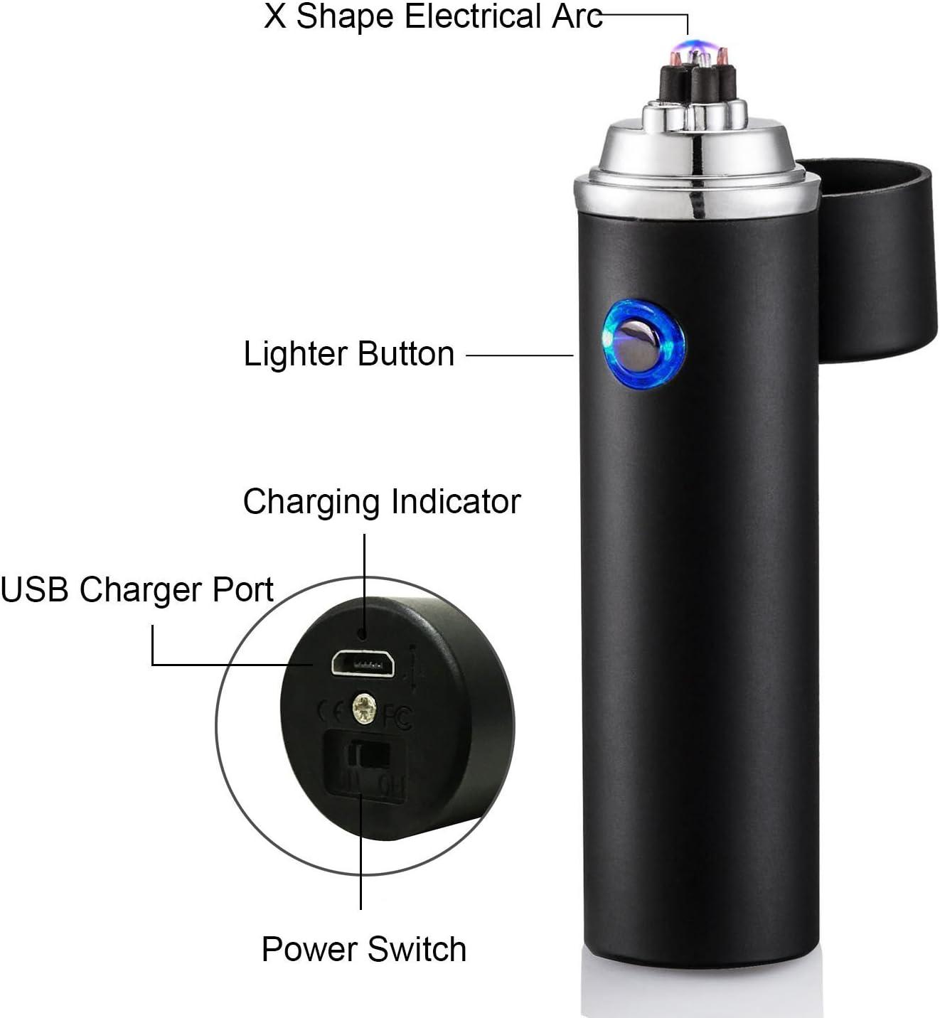Plasma vela ligero Qili arco eléctrico más ligero USB carga ...