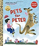 img - for Pets for Peter Book and Puzzle (Little Golden Books) book / textbook / text book
